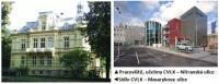 CVLK budovy